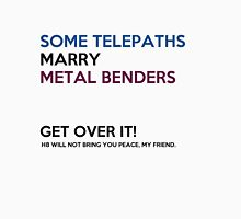 SOME TELEPATHS MARRY METAL BENDERS Tank Top
