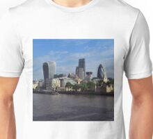 London Skyline from Tower Bridge Unisex T-Shirt