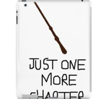 Harry Potter Just One More Chapter iPad Case/Skin