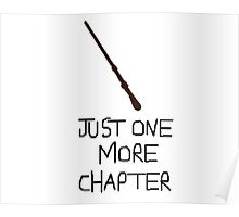 Harry Potter Just One More Chapter Poster