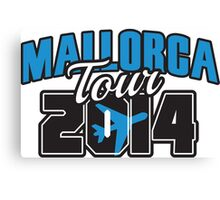 Mallorca Tour 2014 Canvas Print