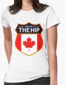 THE TRAGICALLY HIP - LEGEND LOGO SINCE 1982 Womens Fitted T-Shirt