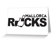 Mallorca Rocks Greeting Card
