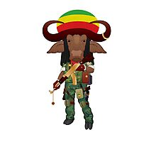 Buffalo Soldier Photographic Print