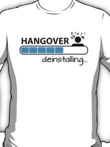 Hangover deinstalling T-Shirt