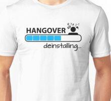 Hangover deinstalling Unisex T-Shirt