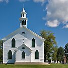 The Little White Church on the Hill by PhotosByHealy