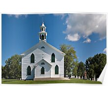 The Little White Church on the Hill Poster
