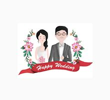 Illustration of a wedding Couple Unisex T-Shirt