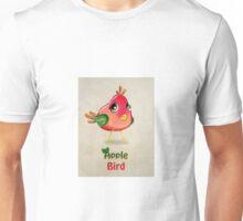 Apple Bird Unisex T-Shirt