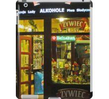 booze and beer- Krakow, Poland iPad Case/Skin
