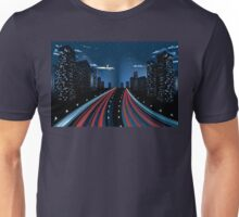 Night City Road 5 Unisex T-Shirt