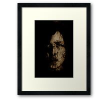 Nasty Boris Framed Print