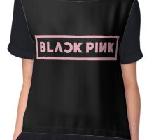 BLACKPINK Black Version Kpop Chiffon Top
