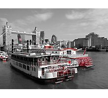 TLC Paddle Steamers, London Photographic Print