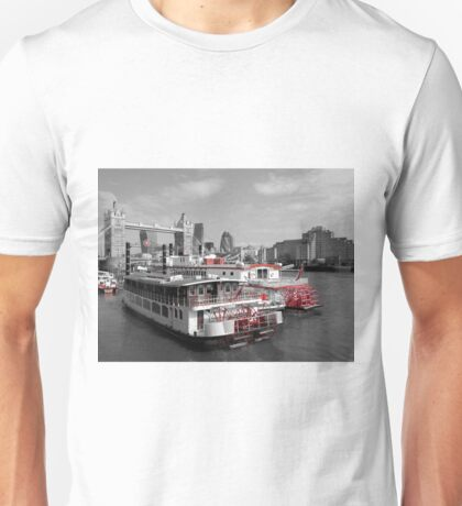 TLC Paddle Steamers, London Unisex T-Shirt