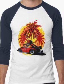 Peace Love Vdub Men's Baseball ¾ T-Shirt