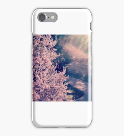 Cherry Blossom Tree iPhone Case/Skin