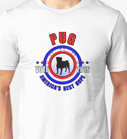 Pug Vote! Unisex T-Shirt