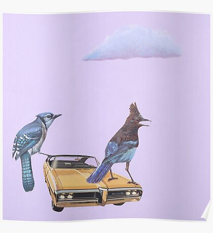 Two Jays and a Bonneville Poster