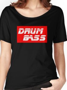 DRUM AND BASS Women's Relaxed Fit T-Shirt