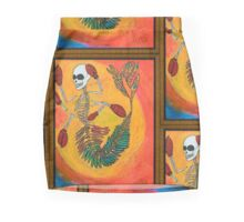 Golden Tooth & Lobster Claws Mini Skirt