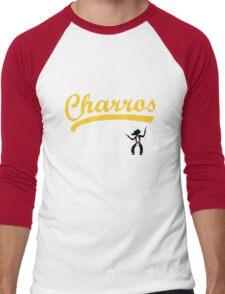 Kenny Powers 55 Charros Home Baseball Shirt Eastbound and Down Men's Baseball ¾ T-Shirt