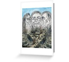 Mt. Rush-Claire Greeting Card