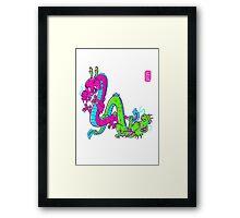 L.A. dragons Framed Print