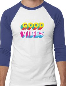 Good Vibes Men's Baseball ¾ T-Shirt