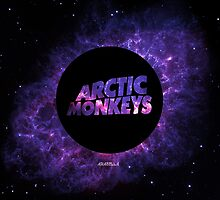 Arctic Monkeys in Space by arabellaspace