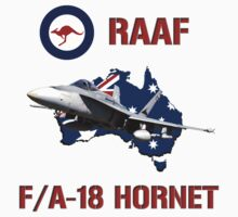 F/A-18 Hornet of the RAAF by Mil Merchant