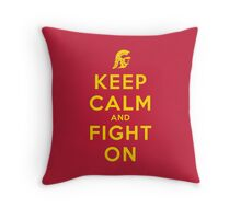 USC Fight On (Classic)  Throw Pillow
