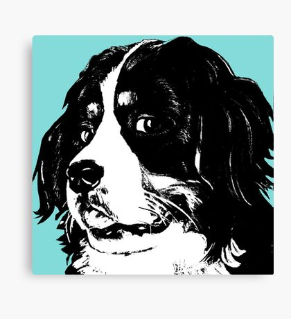 O-So Beautiful Bernese Mountain Dog ~ Graphic Canvas Print