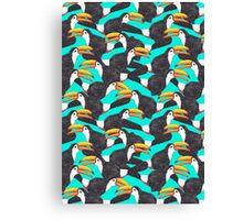 Toucan [green] Canvas Print
