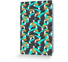 Toucan [green] Greeting Card