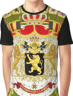 Great Coat of Arms of Belgium Graphic T-Shirt