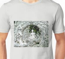 At white temple, Chiang Rai Unisex T-Shirt