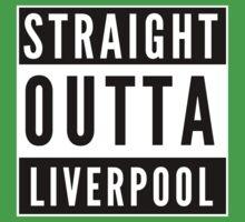 Straight Outta Liverpool Kids Tee