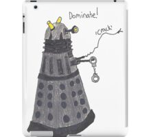 Domination Dalek  iPad Case/Skin