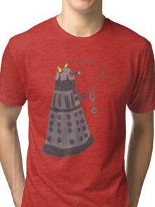 Domination Dalek  Tri-blend T-Shirt