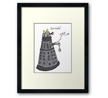 Domination Dalek  Framed Print