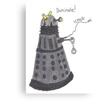 Domination Dalek  Metal Print
