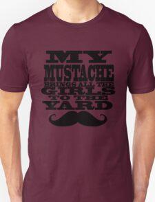Mustache humor  T-Shirt