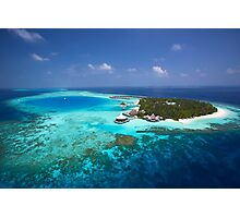 Maldives - Aerial View Photographic Print
