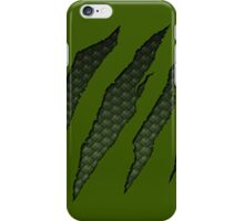 Green Scales Monster iPhone Case/Skin