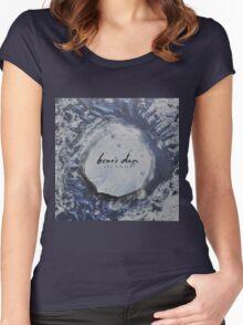 Bear's Den Islands LP Vinyl cover Women's Fitted Scoop T-Shirt