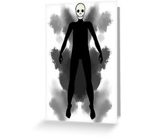 tarot card of death Greeting Card