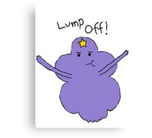 Lumpy Space Princess: Lump Off! Canvas Print