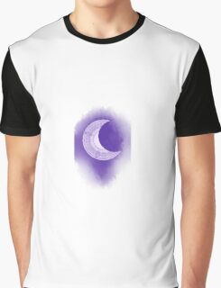 tarot card of the moon Graphic T-Shirt